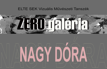 Nagy Dóra másodéves hallgató kiállítása