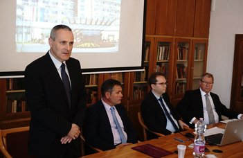 Keretmegállapodást írt alá az egyetem