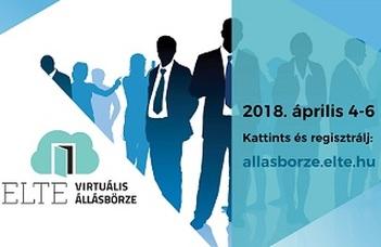 Virtuális Állásbörze az ELTE-n!