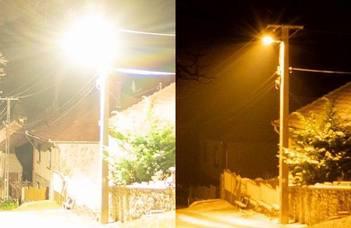 Lehetséges a fényszennyezést csökkentő közvilágítás