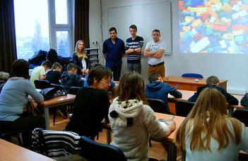 Modellépítő szakkör indult a közoktatásban tanuló diákoknak az ELTE IK Savaria Műszaki Intézetében.