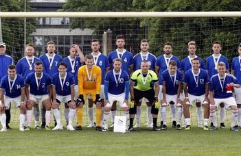 Bajnok a nagypályás labdarúgócsapat