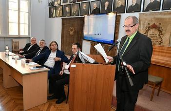 Különleges konferencián tartott előadást dr. Katona Attila