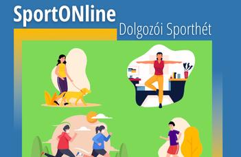 SportONline- ELTE Dolgozói Sporthét