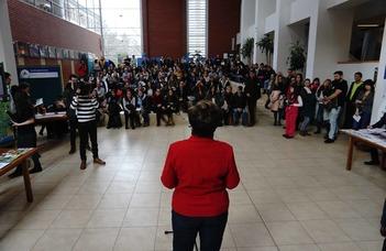 Nyüzsgő forgatag az ELTE SEK újabb nyílt napján