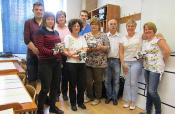 EDLRIS Robotika alapozó képzés Szombathelyen