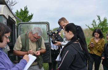 Nemzetközi terepgyakorlat a Fertő-Hanság Nemzeti Parkban