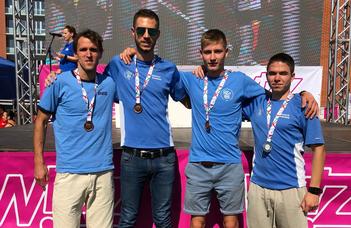 A SZOESE négyese összesen három bajnoki érmet futott össze a hétvégén