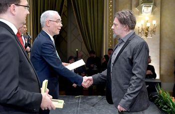 Készman József megkapta a legmagasabb szakmai díjat