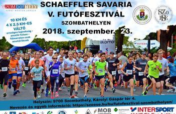 Schaeffler Savaria V. Futófesztivál Szombathelyen