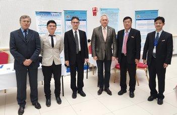 Együttműködési megállapodást írt alá az ELTE és a xian-i XUST egyetem rektora