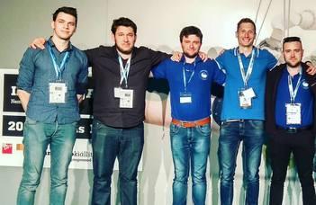 Harmadik helyen végzett az ELTE IK duális gépészmérnök hallgatóinak csapata a budapesti Techtogether GTE Ipar napjai versenyen