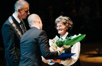 Öregdiákunk kapta a Szombathely Kultúrájáért Életműdíjat