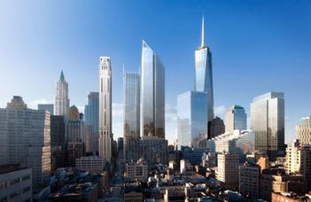 New York felhőkarcolóinak nyomában