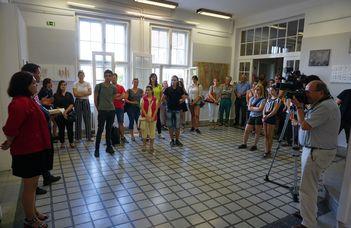 """Kik vagyunk """"mi""""? – a Savaria Vizuális Művészeti Tanszék oktatói és diákjai mutatkoztak be"""