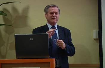Nagy iskolateremtő szenior mester – Prof. dr. Gáspár Mihály rangos kitüntetést kapott