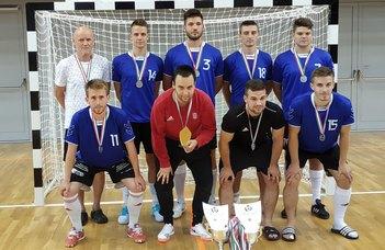 A női és a férfi ELTE SEK-csapat is dobogós lett a Futsal MEFOB-on