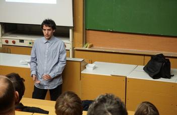 Repülésmeteorológus lett a fizika alapszakos egyetemistából