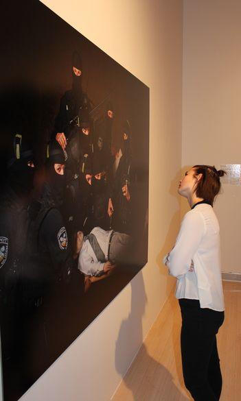 Tanulmányúton járt a Ludwig Múzeumban a Vizuális Művészeti Tanszék