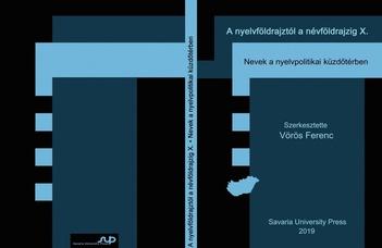 A nyelvföldrajztól a névföldrajzig 10