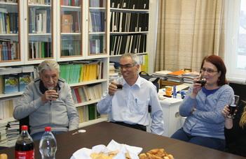 Újra az alma materben – Öregdiákok találkoztak a kémiai tanszéken